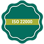 ISO 22000 Certificate system